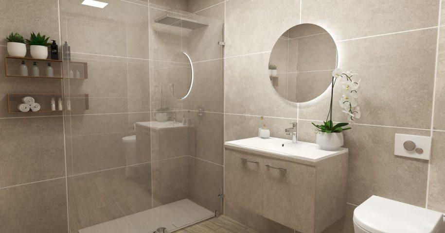 Salle de bains – ambiance moderne