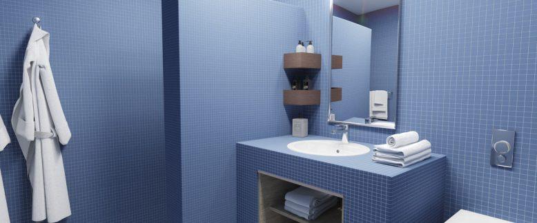 Salle de bains – ambiance urbaine
